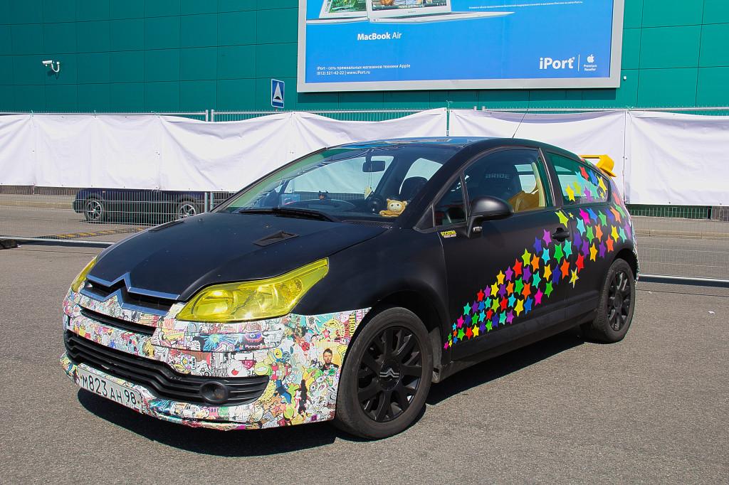 Автомобильный бум в Санкт-Петербурге