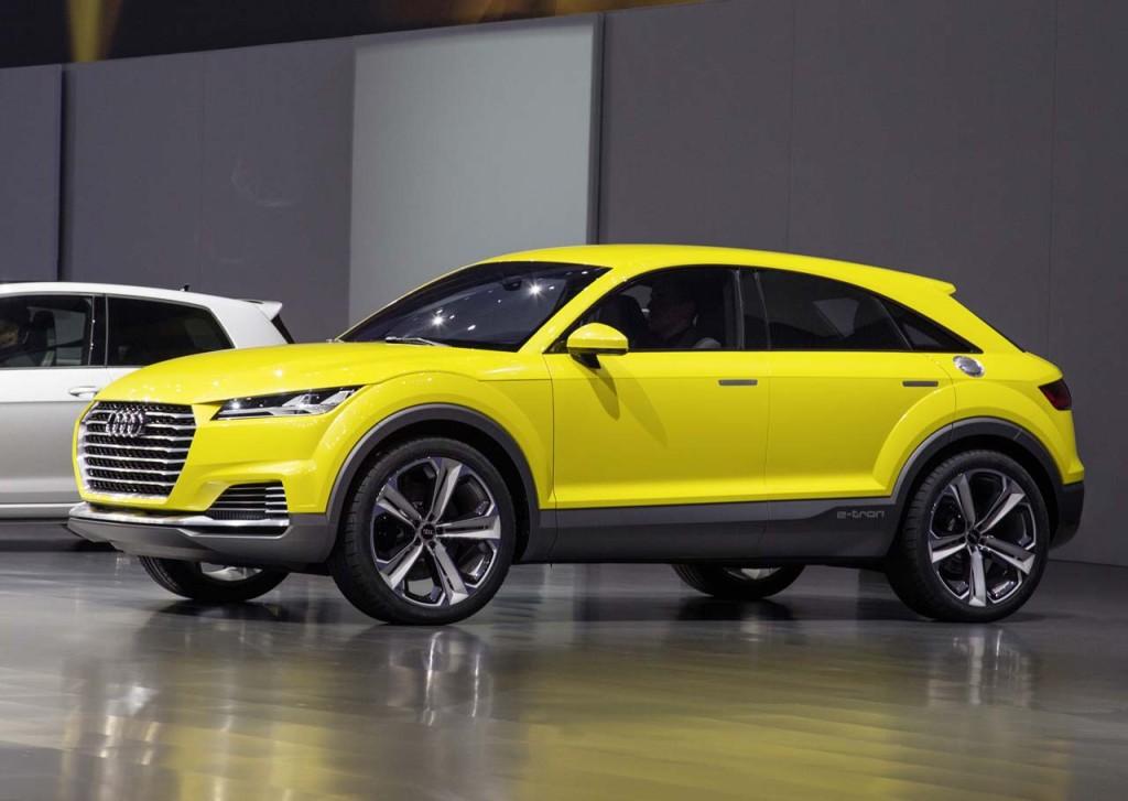 ММАС 2014 Мировые туманные премьеры от Audi