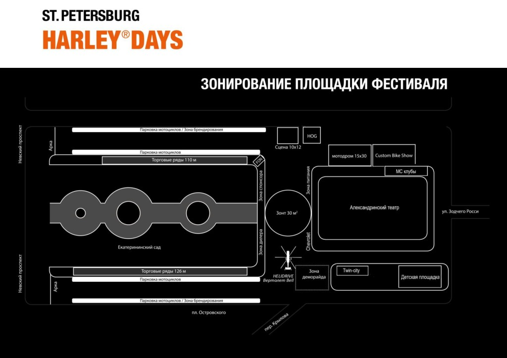 HARLEY DAYS В САНКТ-ПЕТЕРБУРГЕ