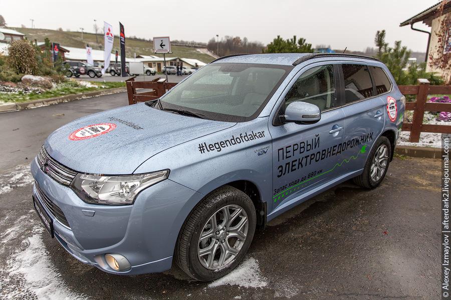 «Легенды Дакара»: внедорожный тест-драйв от Mitsubishi и Хироши Масуока