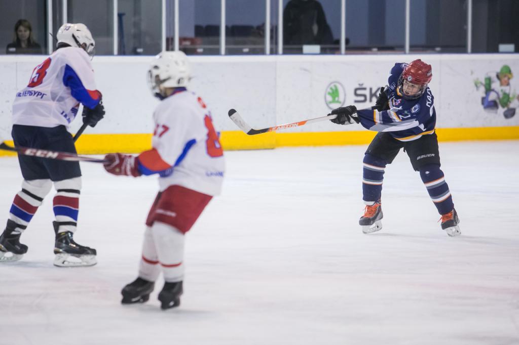 ŠKODA Junior Ice Hockey Cup: команда «Авто Премиума» выиграла отборочный матч в Петербурге