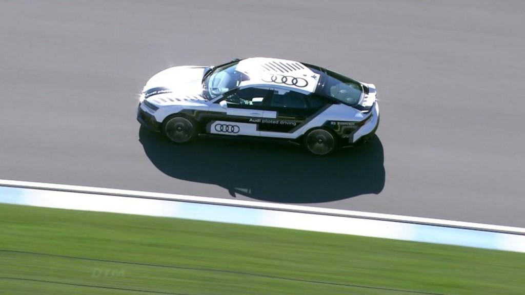 Audi Piloted Driving: на круг ближе к будущему