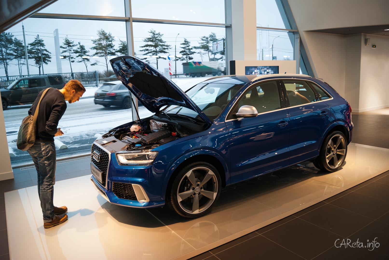 Audi Центр Выборгский: Терминал в мир Audi