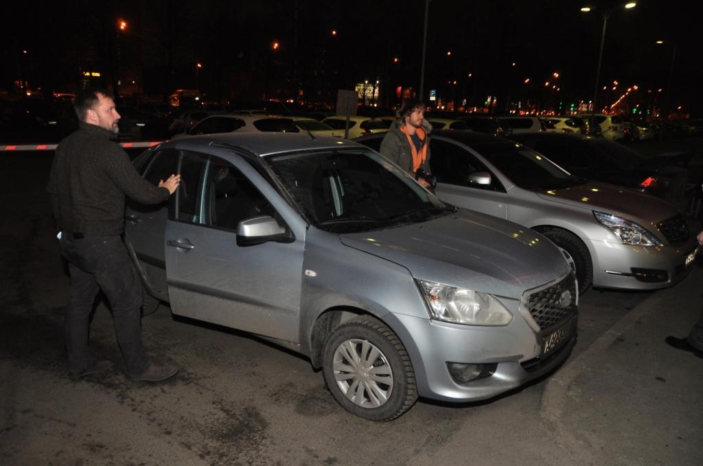 Datsun on-Do: финиш автопробега Барнаул-Петербург