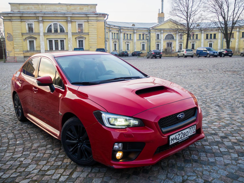 Subaru WRX 2014: Любовь с первого километра