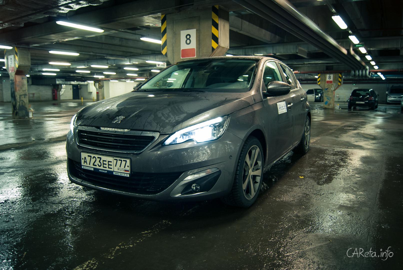 Француз покоряет русские сердца: Тест-драйв Peugeot 308