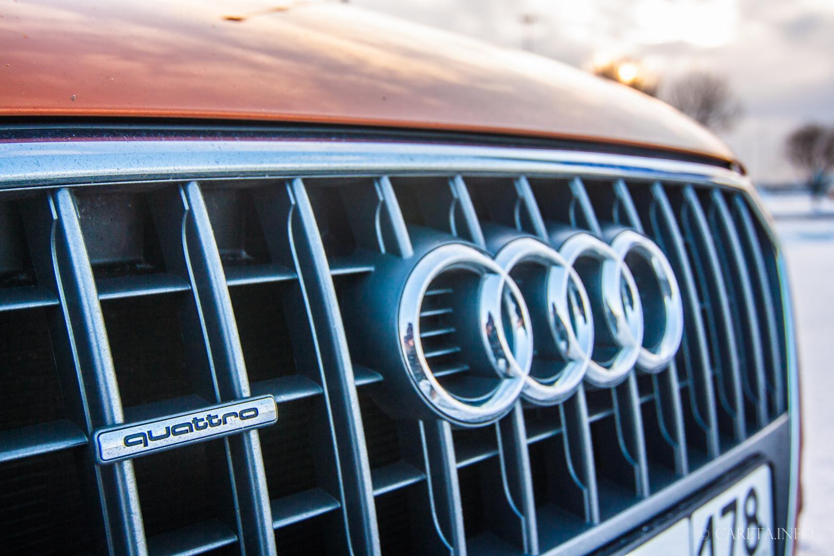 Доступный премиум. Тест-драйв Audi Q3