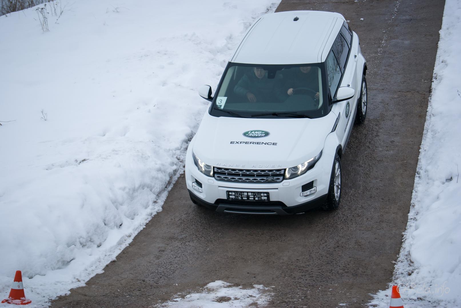 Land Rover Experience - едем не по дорогам, а в направлении!