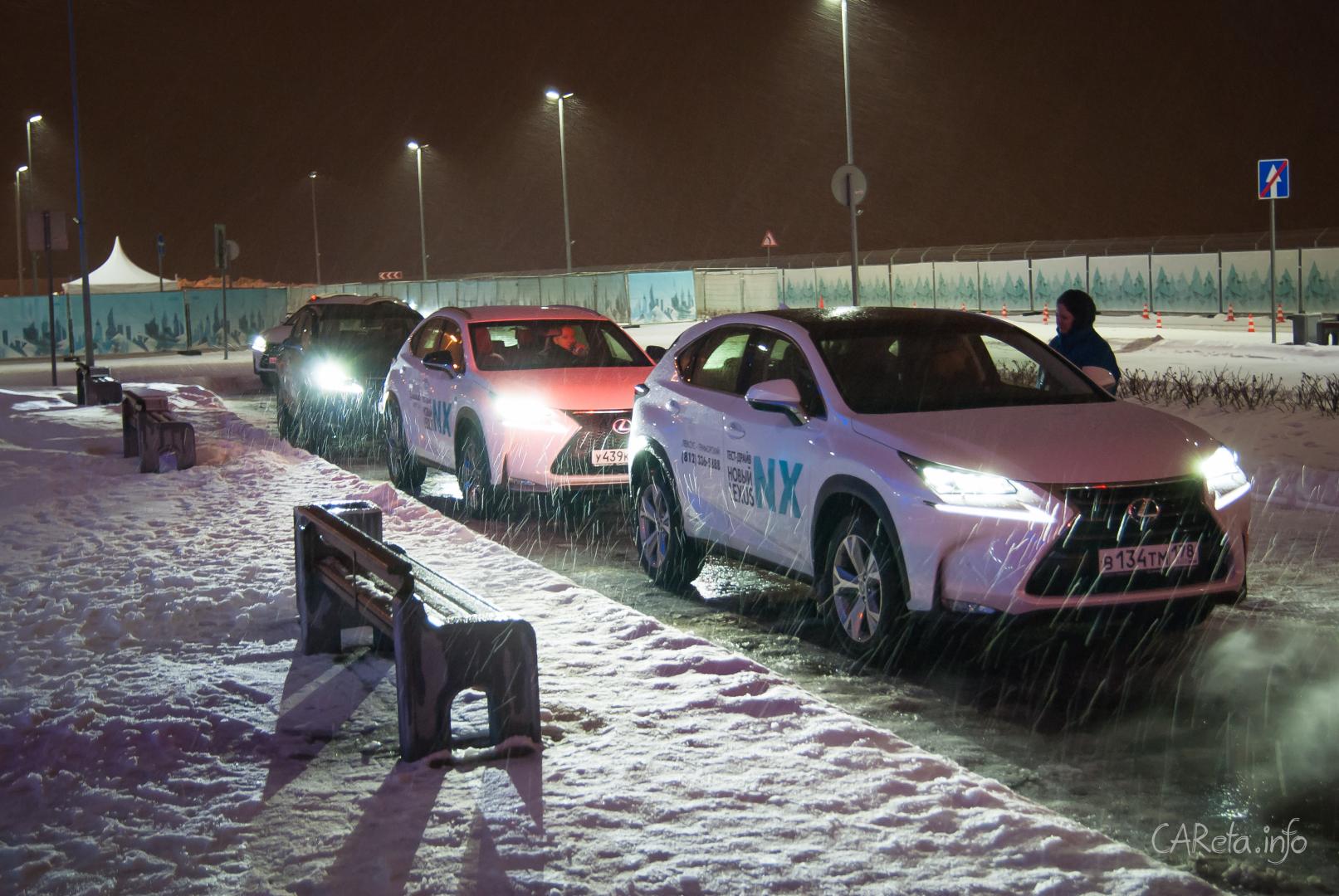 Зимний мастер-класс от Lexus: LMC-2015