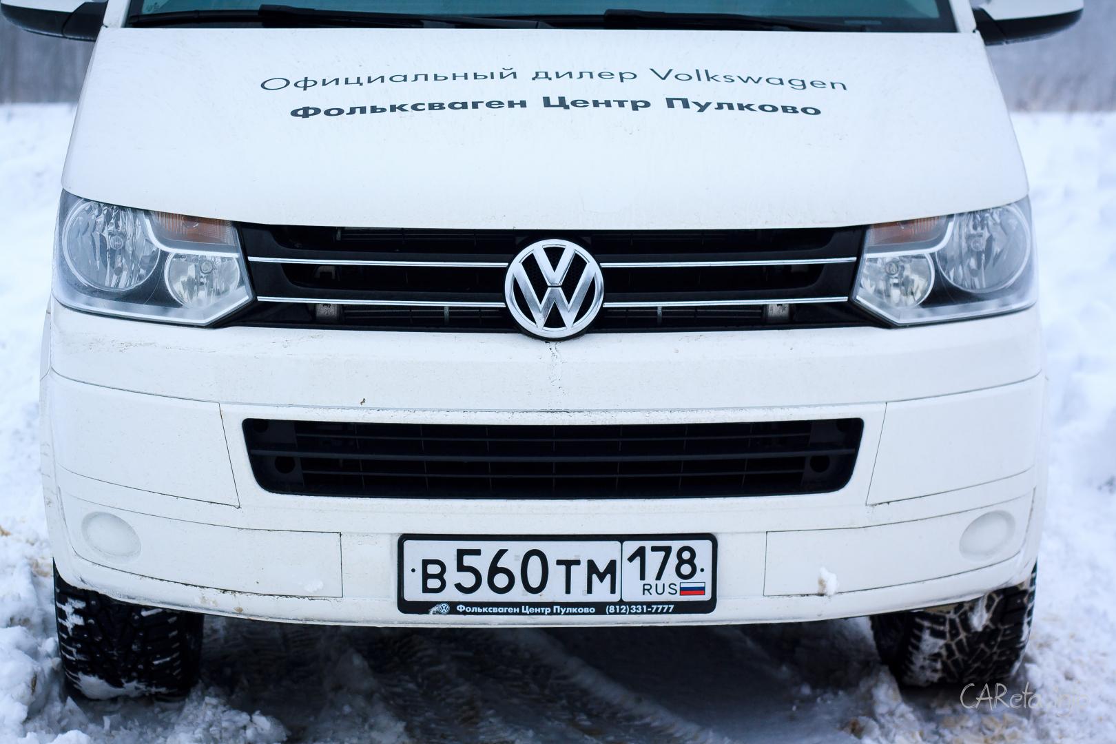 Размер имеет значение: Тест-драйв VW Caravelle