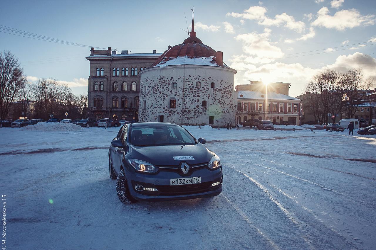 Тест-драйв Renault Megane: Первые впечатления