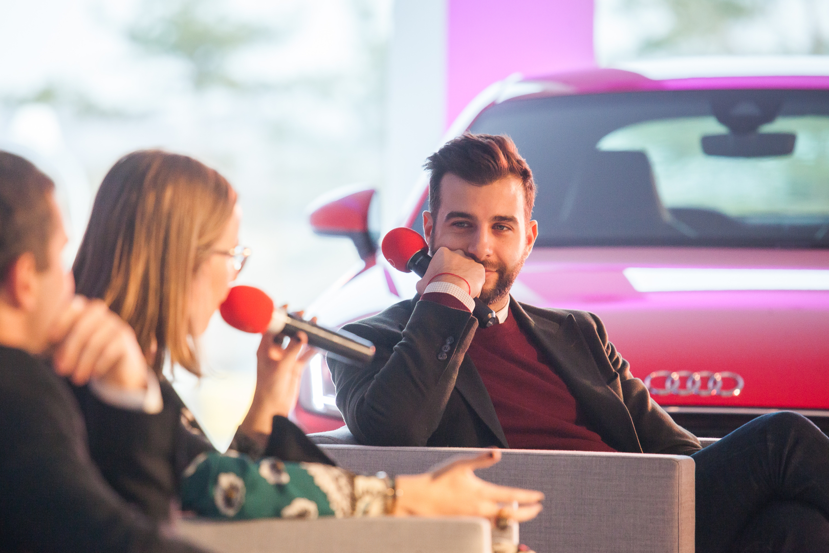 Открытие крупнейшего в России центра Audi