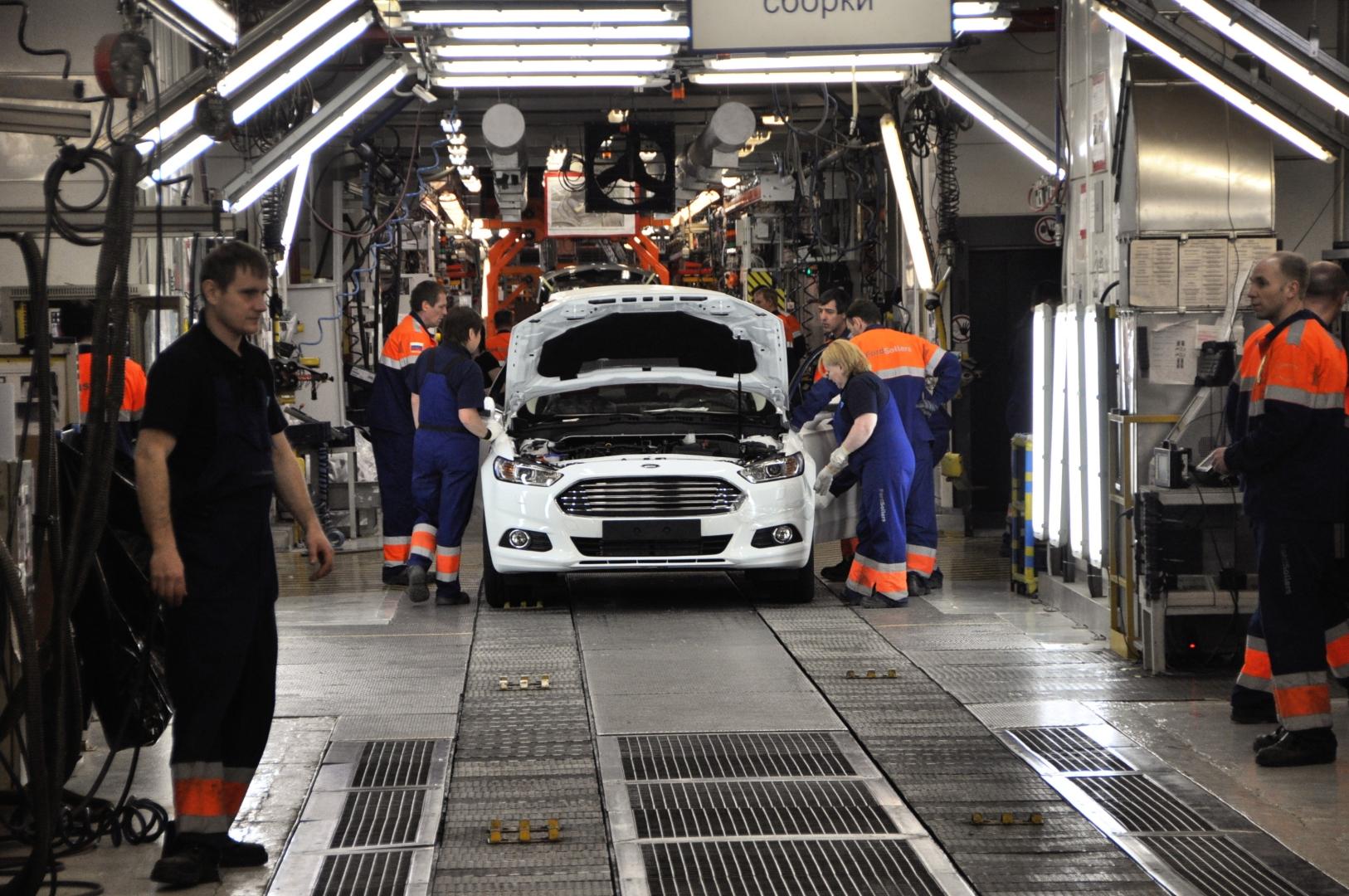 Ford Sollers объявляет о запуске производства нового поколения Ford Mondeo на заводе во Всеволожске
