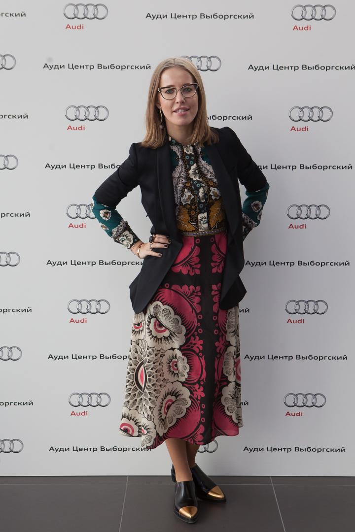 Kseniya Sobchak Audi 1