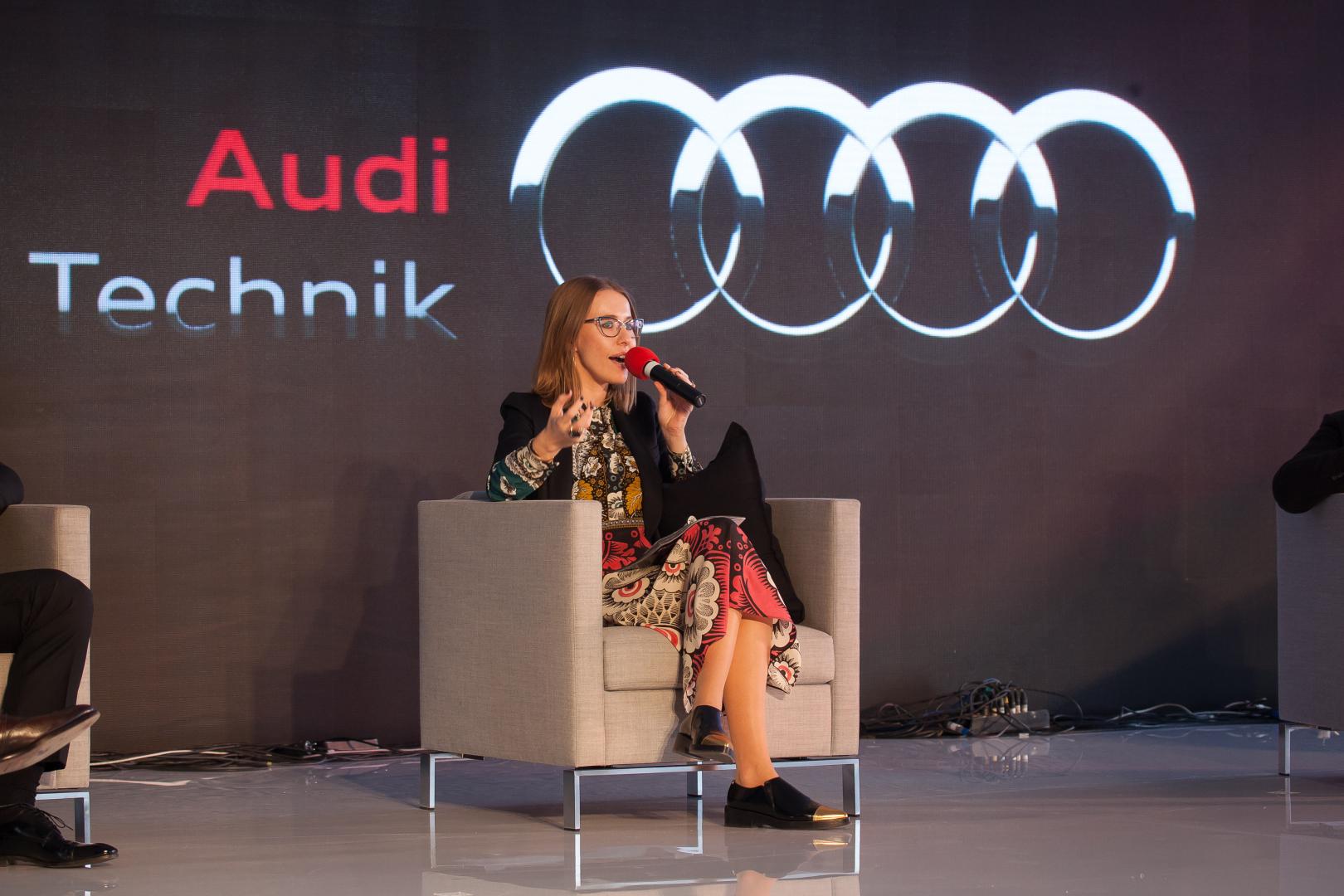 Kseniya Sobchak Audi 3