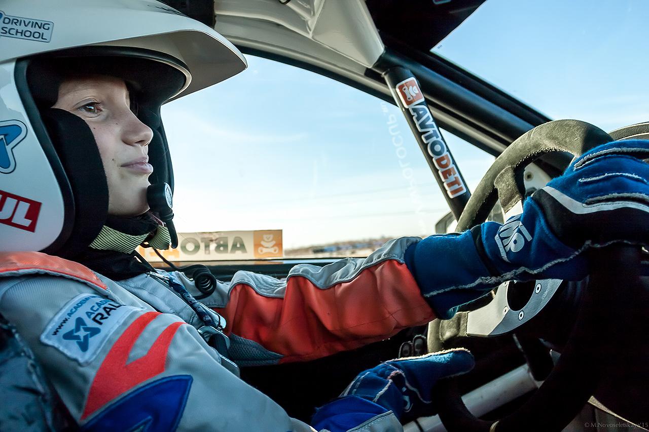 Эксклюзивное интервью с самой молодой автогонщицей России - Ириной Сидорковой
