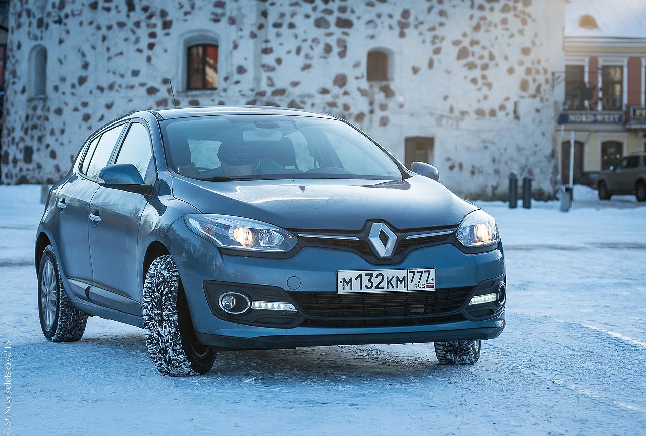 Renault Megane Hatchback: мужской тест-драйв