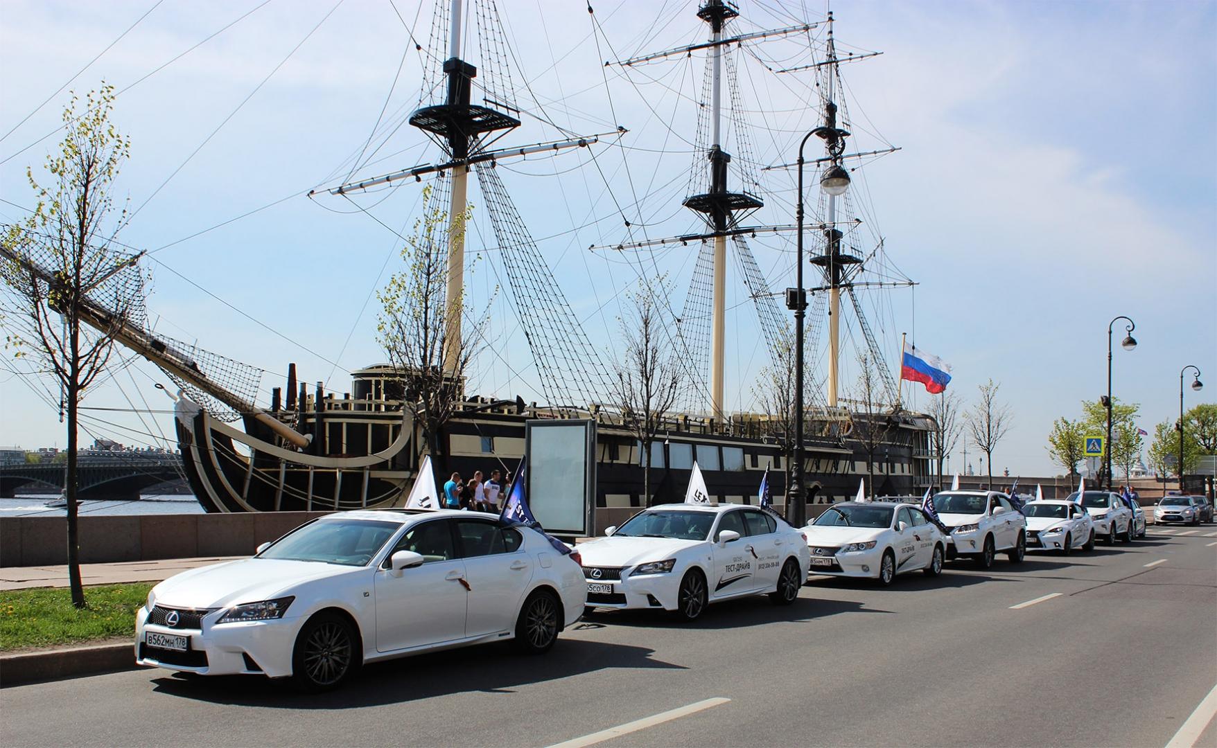 """Мы поддерживаем автопробег Лексус """"Грани Победы""""!"""