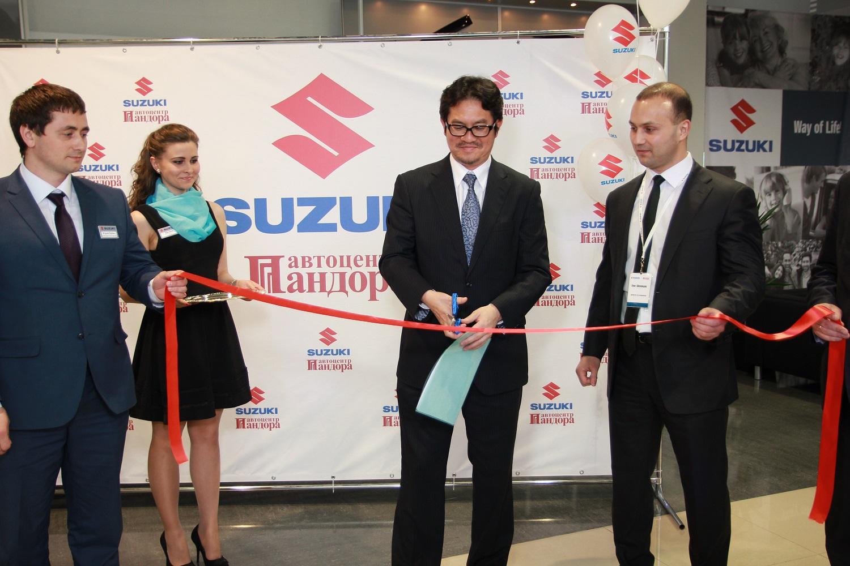 Новый дилерский центр Suzuki
