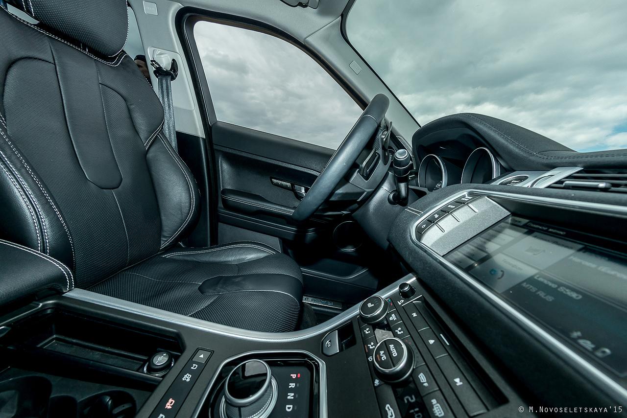 Тест-драйв Range Rover Evoque. Полноценный Land Rover