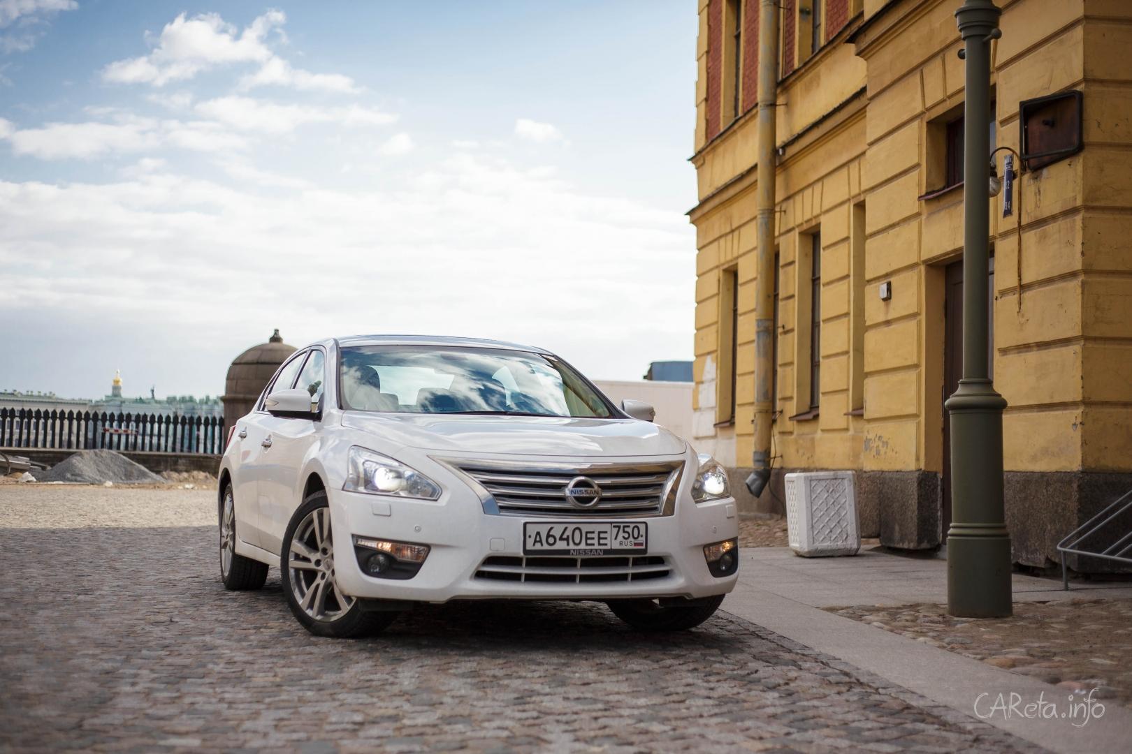 Тихое пение Nissan Teana