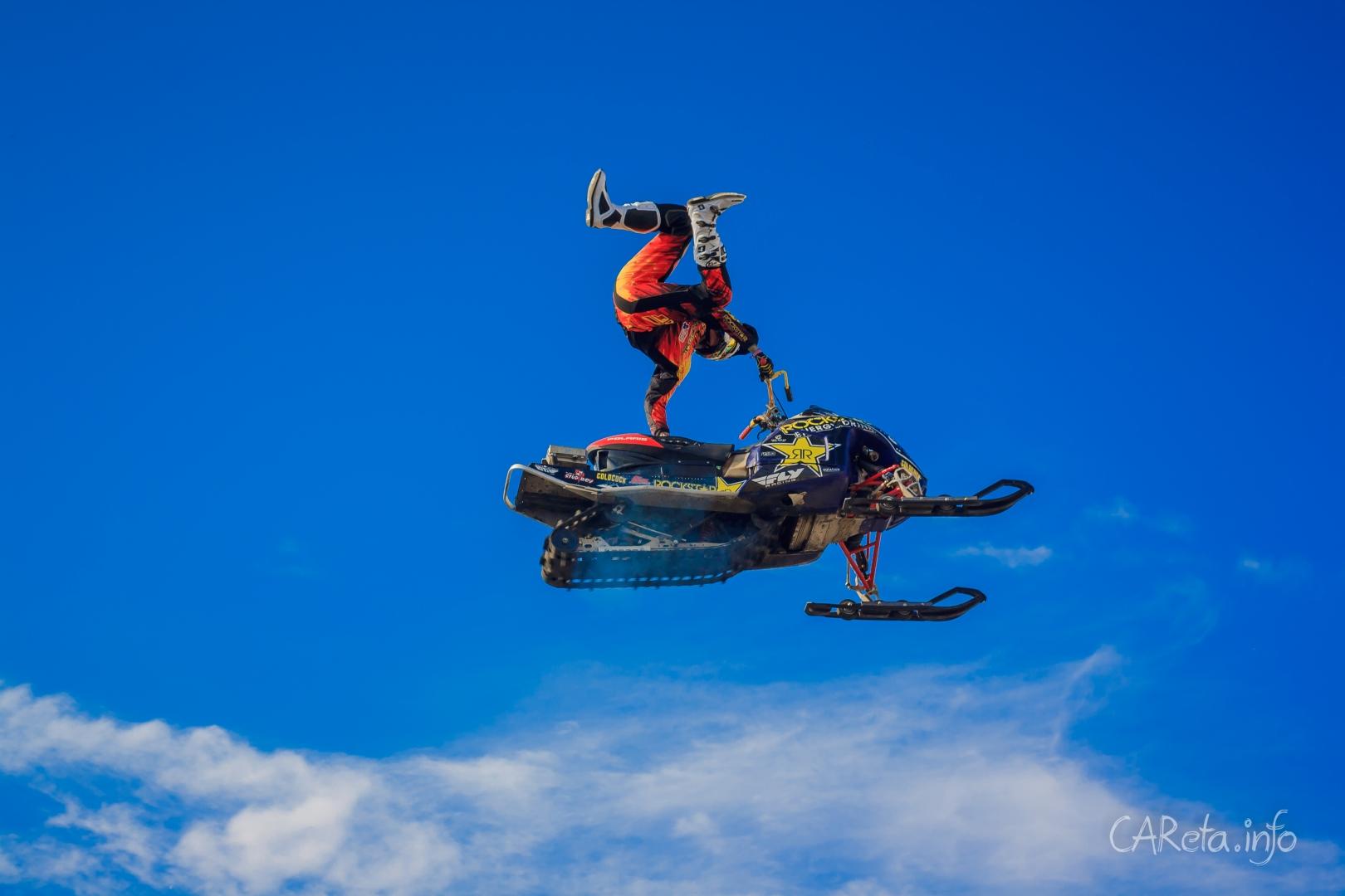 Жаркий день с Adrenaline FMX Riders