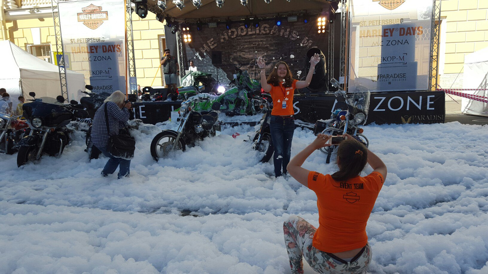 Успеть на St.Petersburg Harley Days