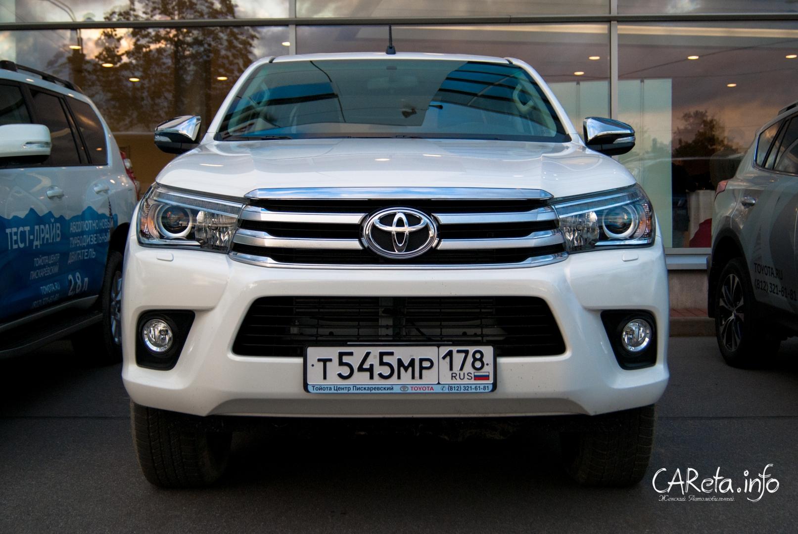 Новая Toyota Hilux - уже в салонах