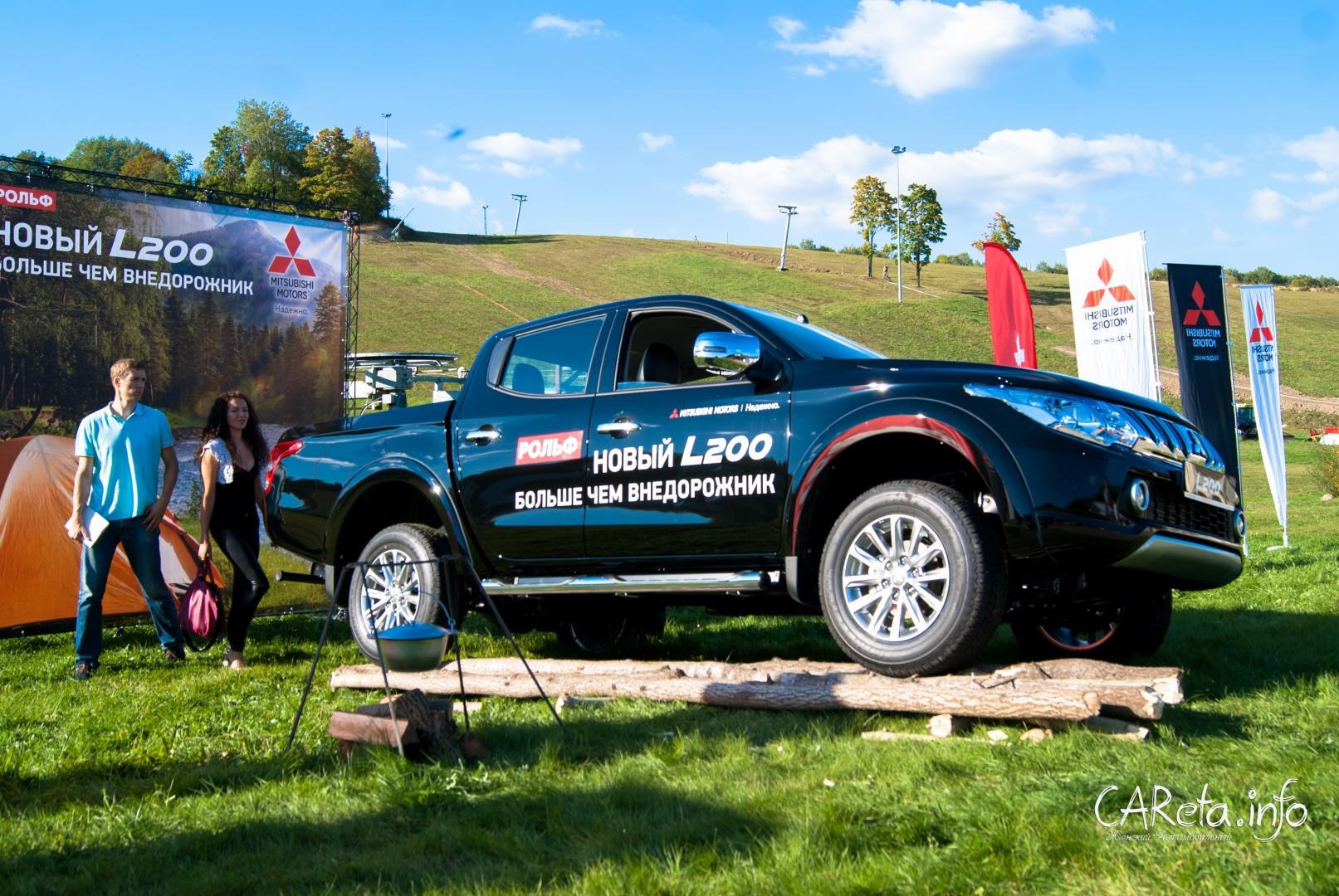 Новый Mitsubishi L200: всероссийская премьера