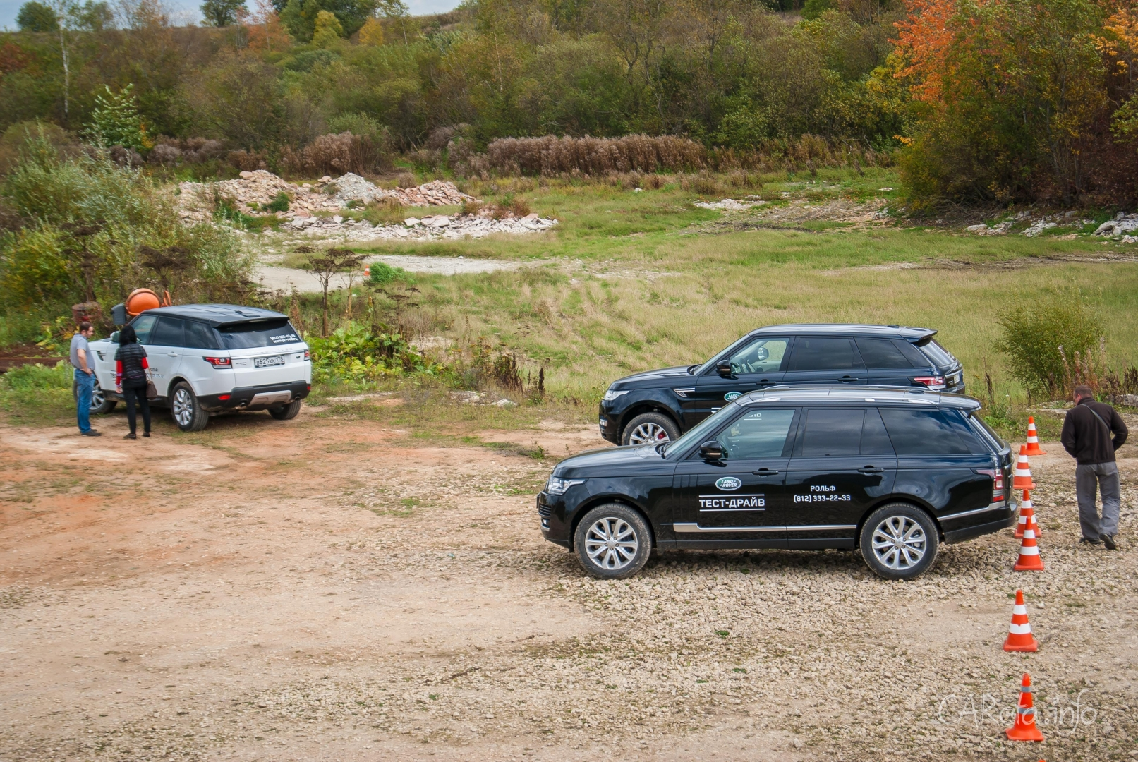 РОЛЬФ показал, на что способны Jaguar Land Rover