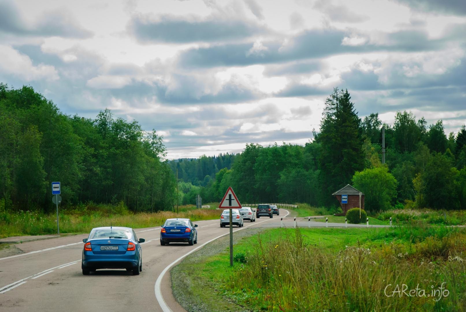 Дневник автоквеста ŠKODA в Карелии: День третий. Состояние карельских дорог