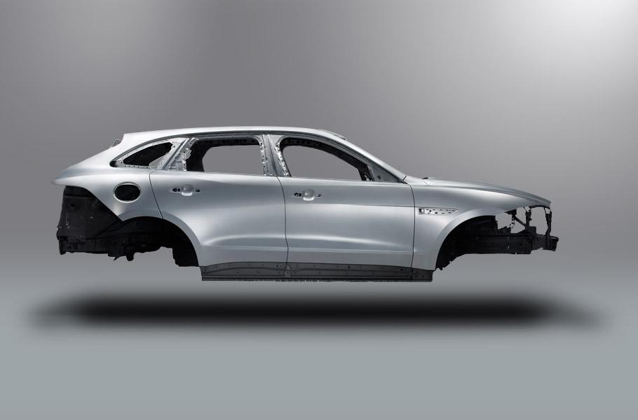 F-Pace: первый кроссовер от Jaguar