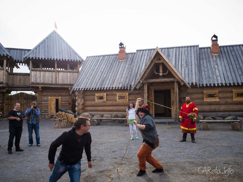 Дневник автоквеста ŠKODA в Карелии: День первый. В погоне за камнями