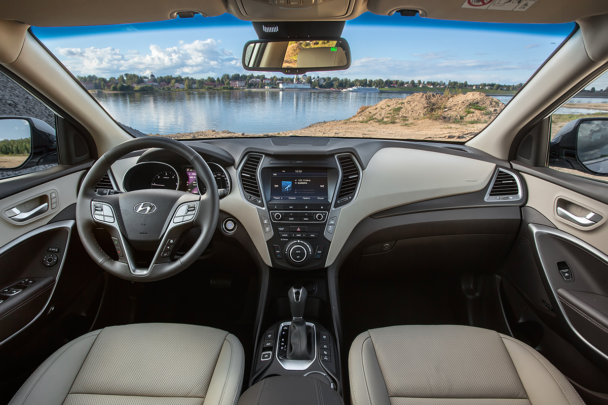 Начались продажи обновленного Hyundai Santa Fe
