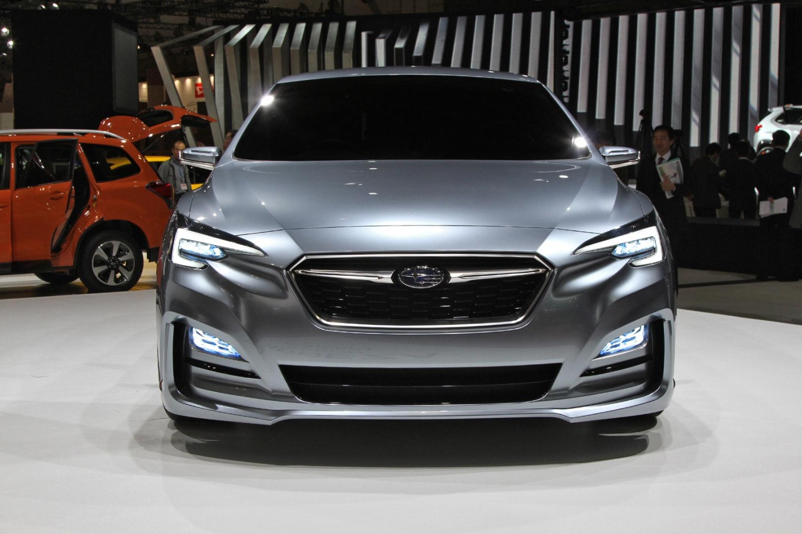 Subaru представила новую Импрезу