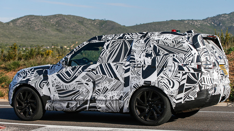 Шпионские фото нового Land Rover Discovery