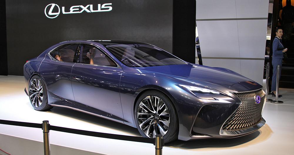 Новый флагман от Lexus