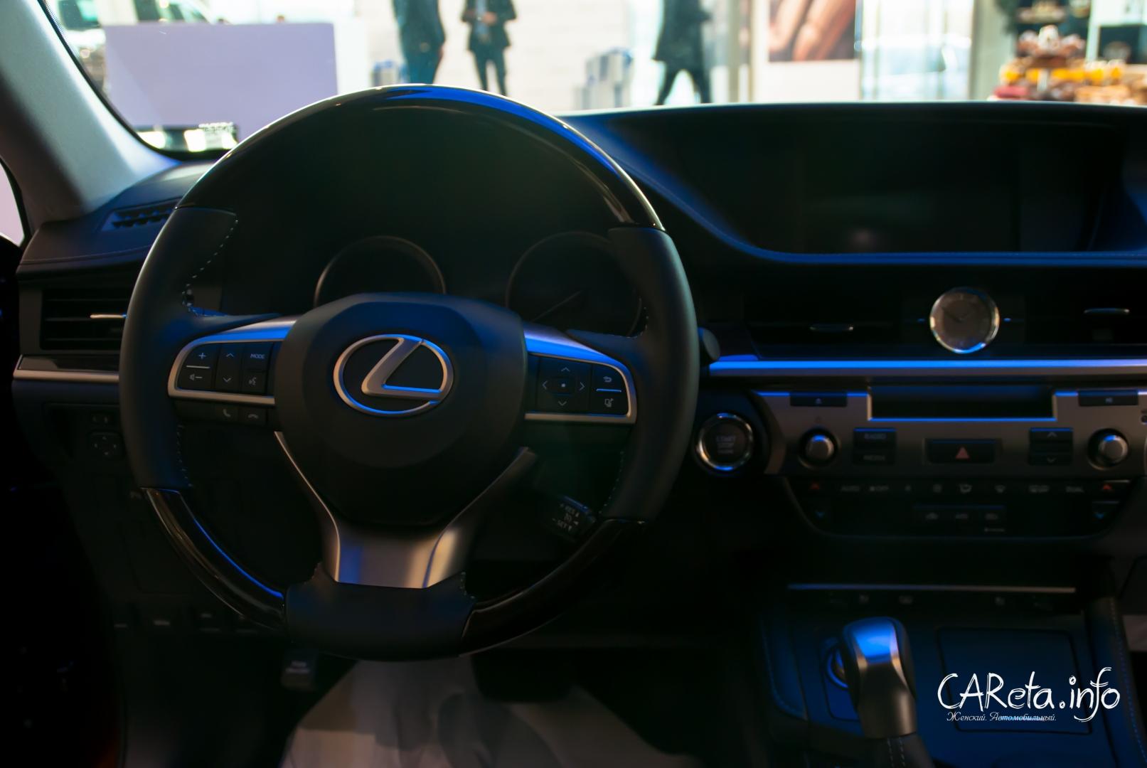 Lexus ES 250 - уже в дилерских центрах