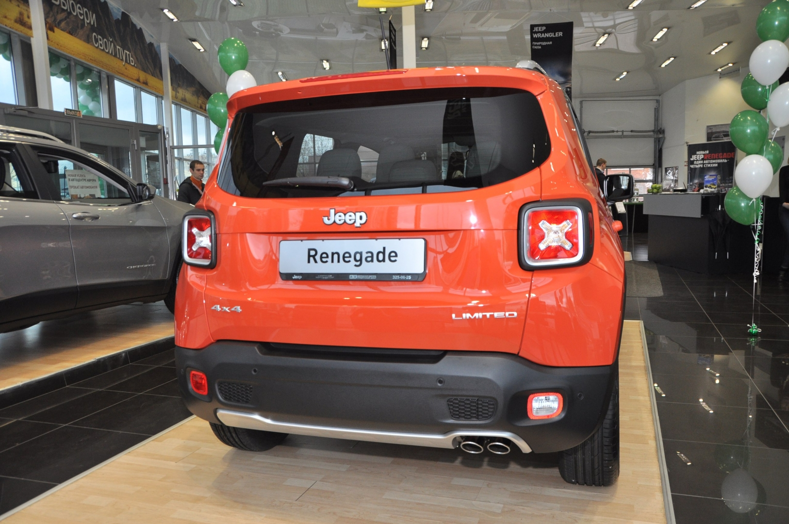 Новинка сезона - Jeep Renegade 2015
