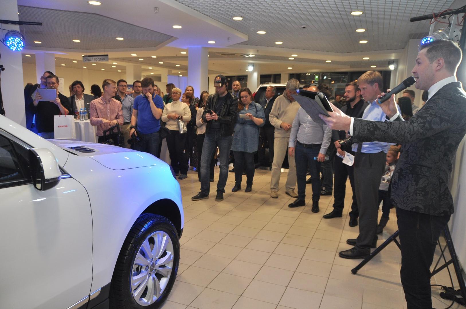 Открытие первого в Петербурге дилерского центра Haval