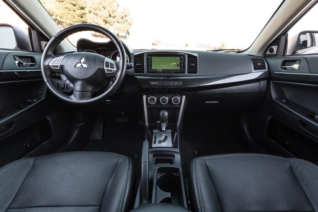 Представлен рестайлинговый Mitsubishi Lancer