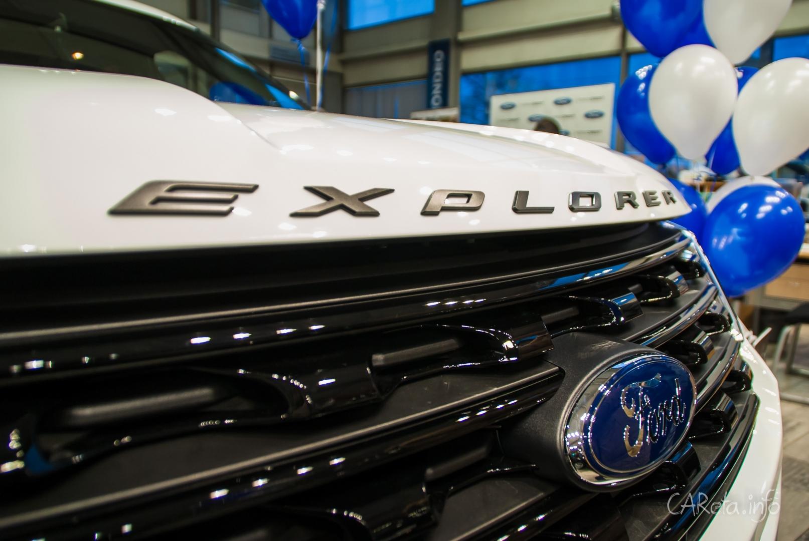 Публика увидела новый Ford Explorer