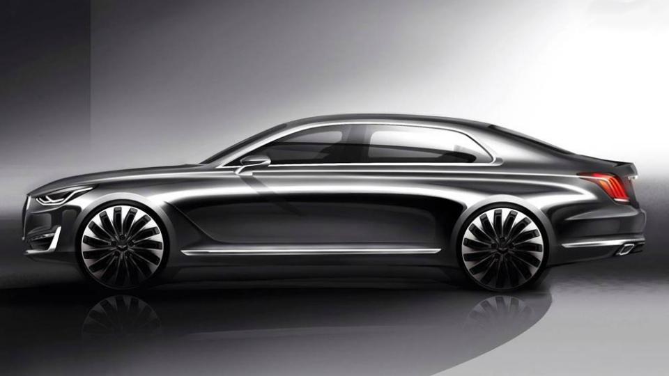 Hyundai представил дизайн нового флагмана