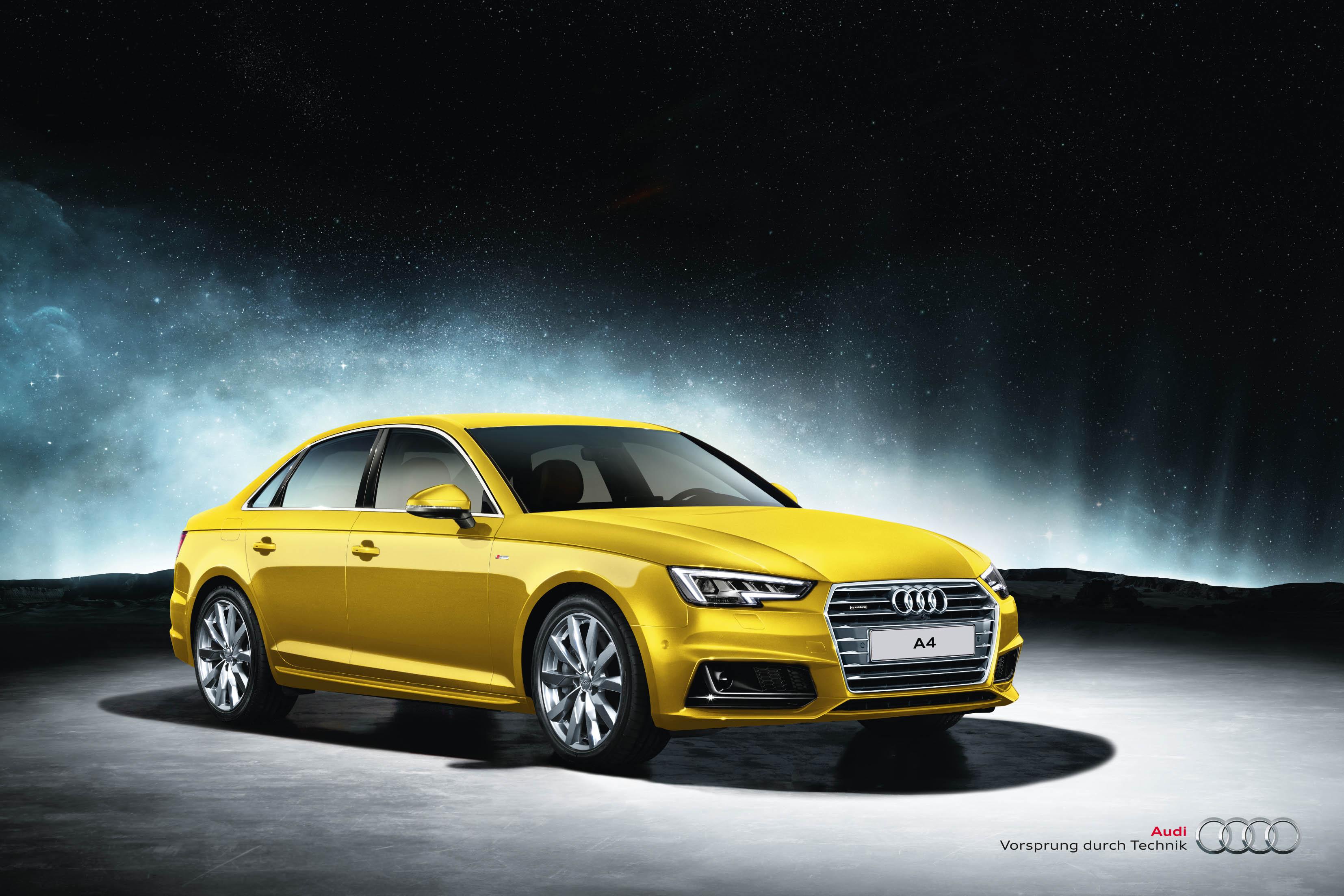 Презентация Audi A4 в Ауди Центр Выборгский