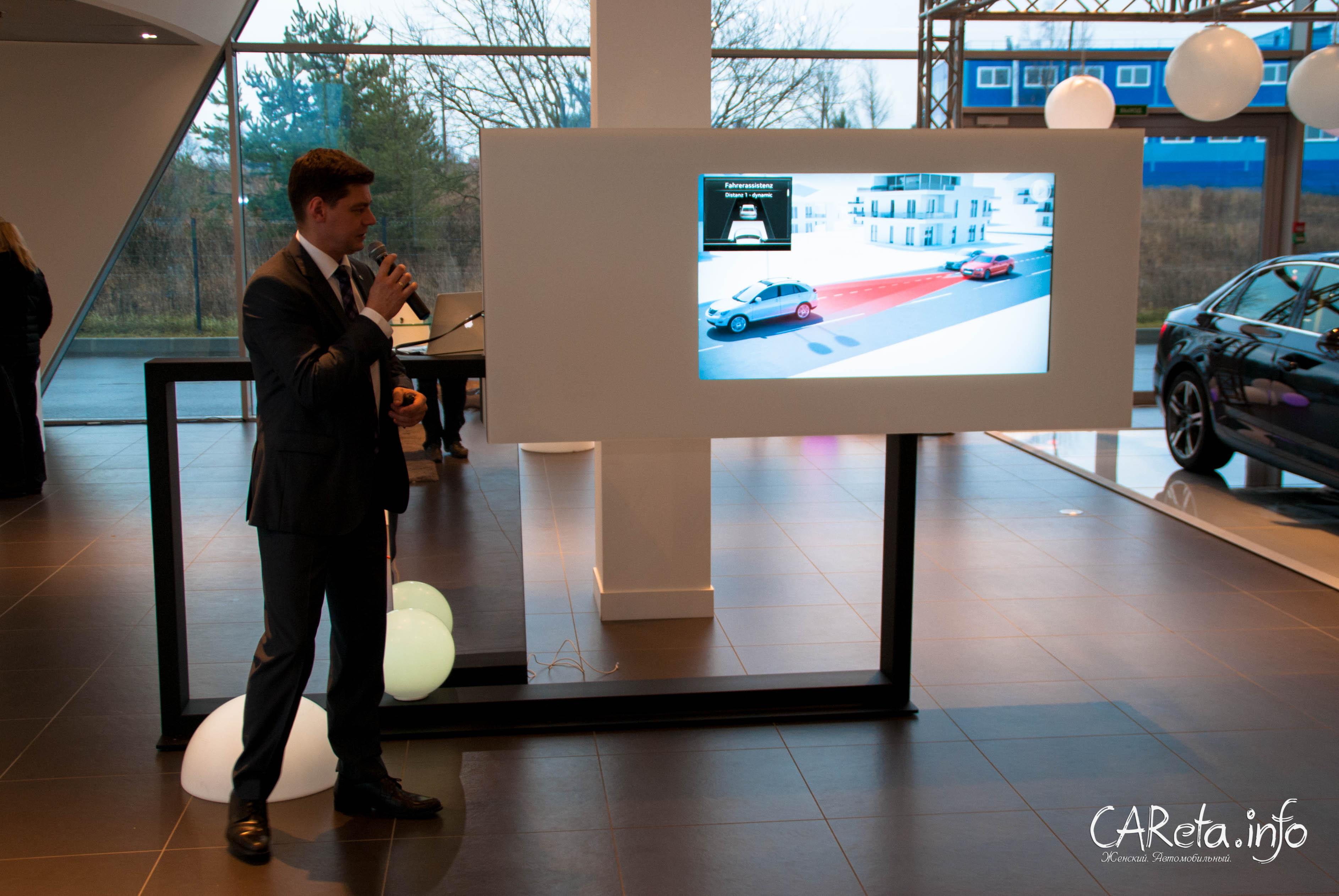 Audi A4 в Ауди Центр Выборгский: прикоснуться к будущему