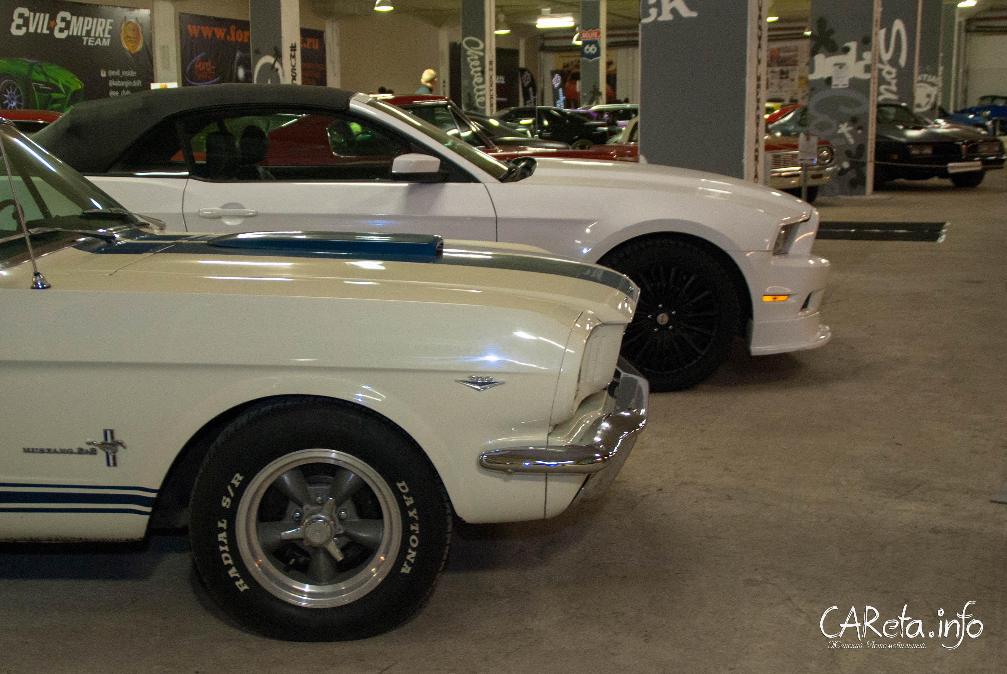 Вот, например, чем был и чем стал Ford Mustang.