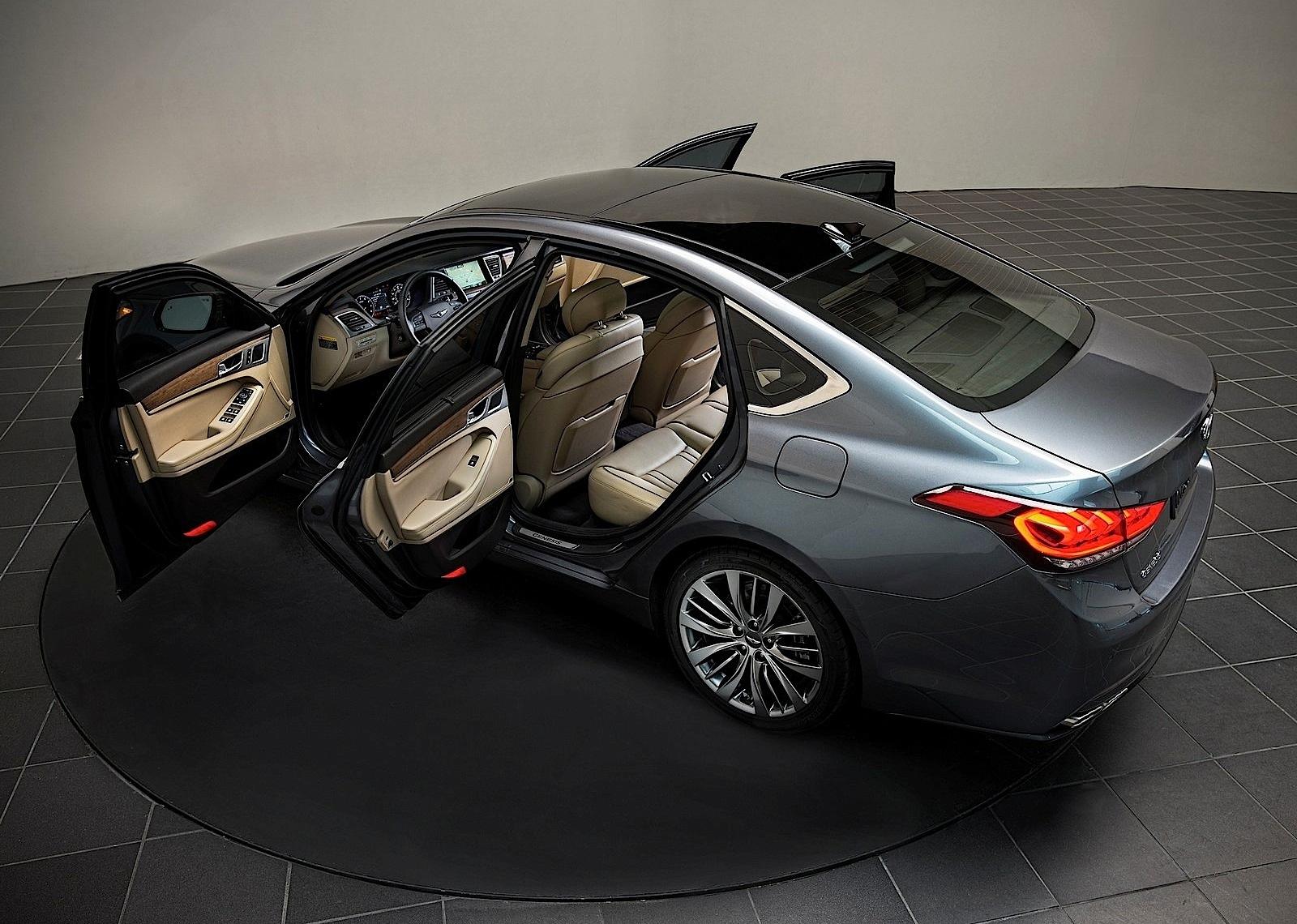 Genesis - новый премиальный бренд от Hyundai