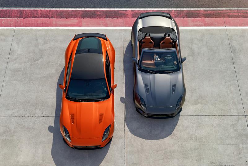 Заряженный Jaguar F-Type