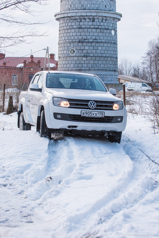 Quadratish. Praktish. Gut: Тест-драйв VW Amarok