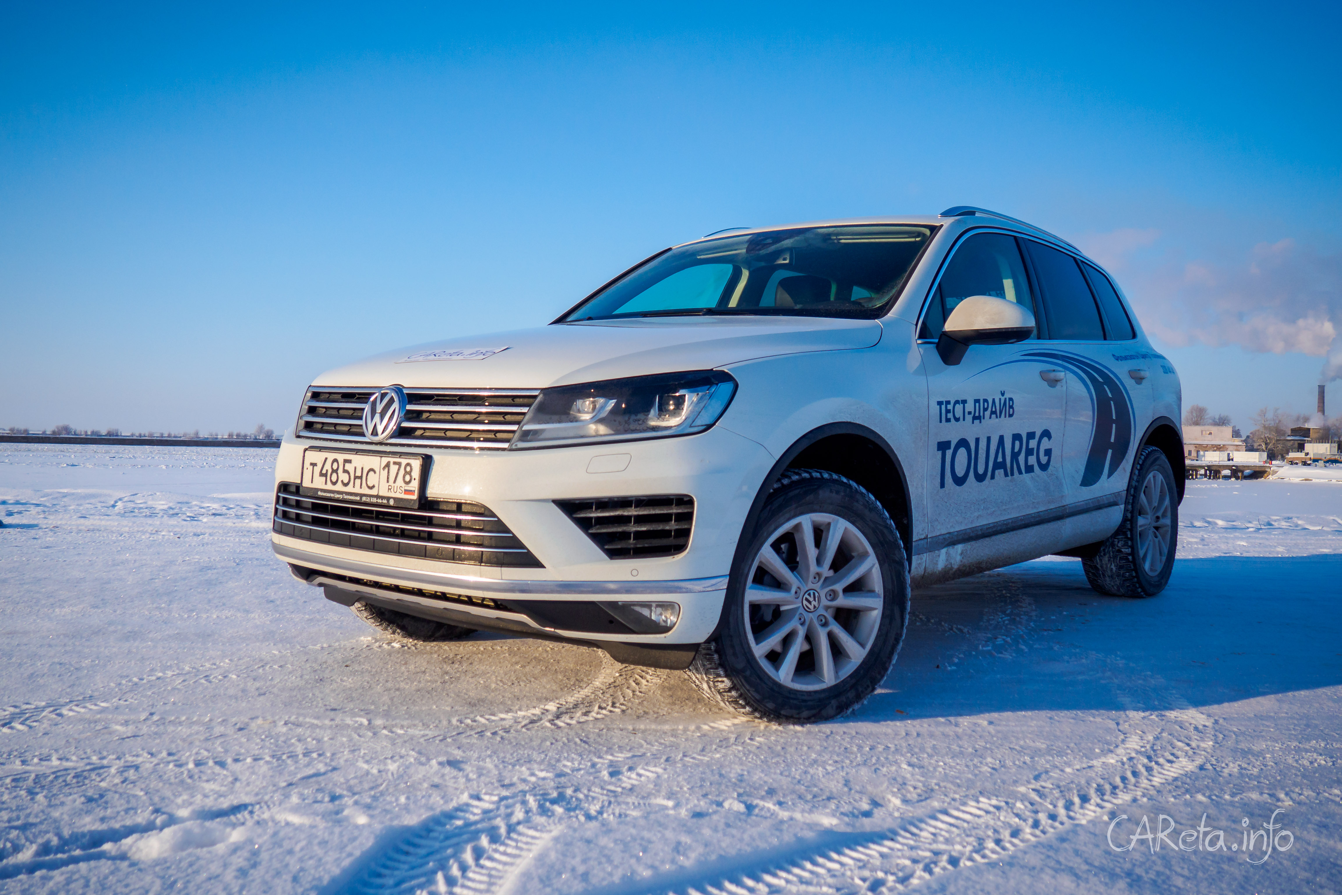 У VW Touareg не осталось русских корней